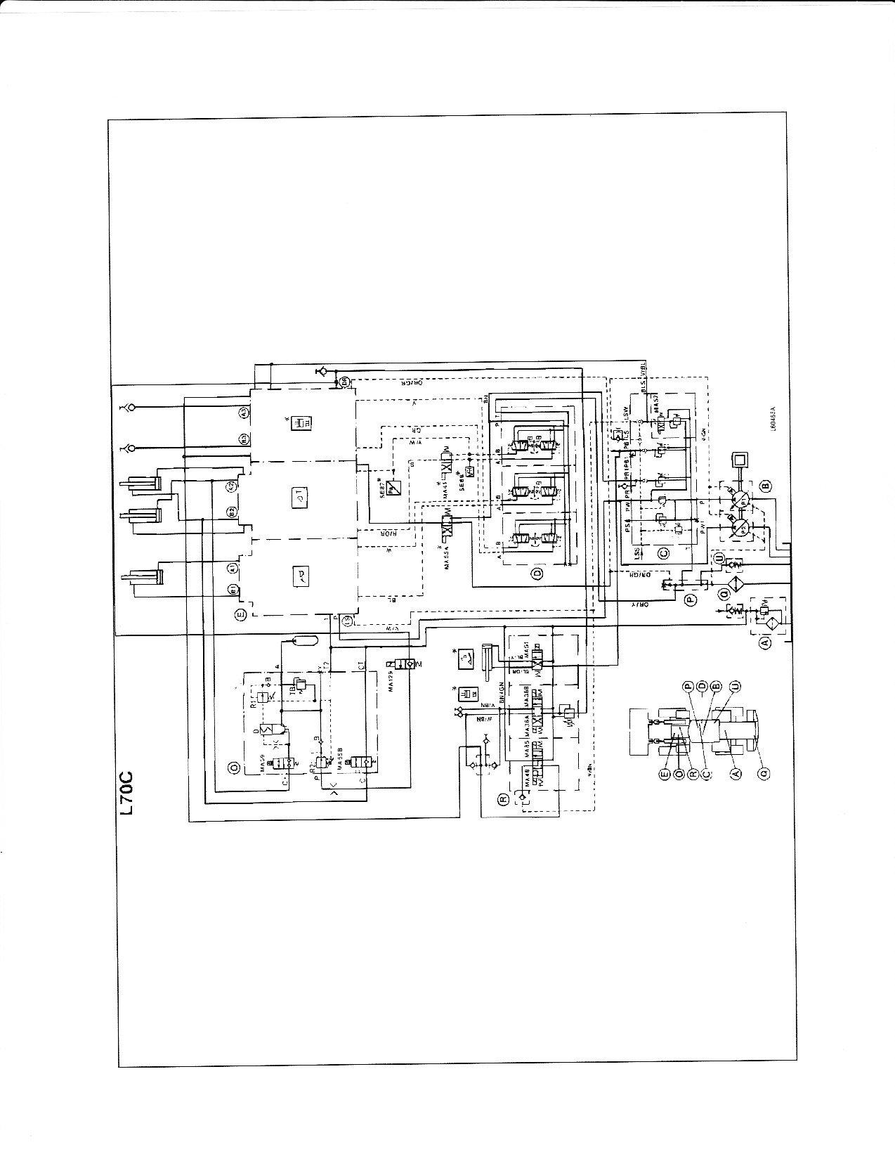 Volvo L20 Loader Wiring Diagram Diagrams L30b Detailed Schematics Forks