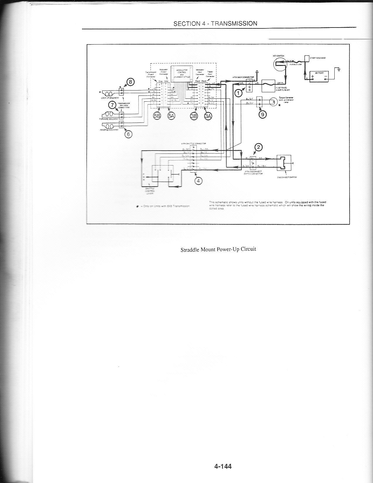 I Have A Ford 445c Loader Tractor With 8 X8 Lectronic Shuttle Shift C8 Transmission Wiring Diagram Here Is The Info Promised Hope It Helps You If Need More Technical From Book Just Ask Thanks Dan