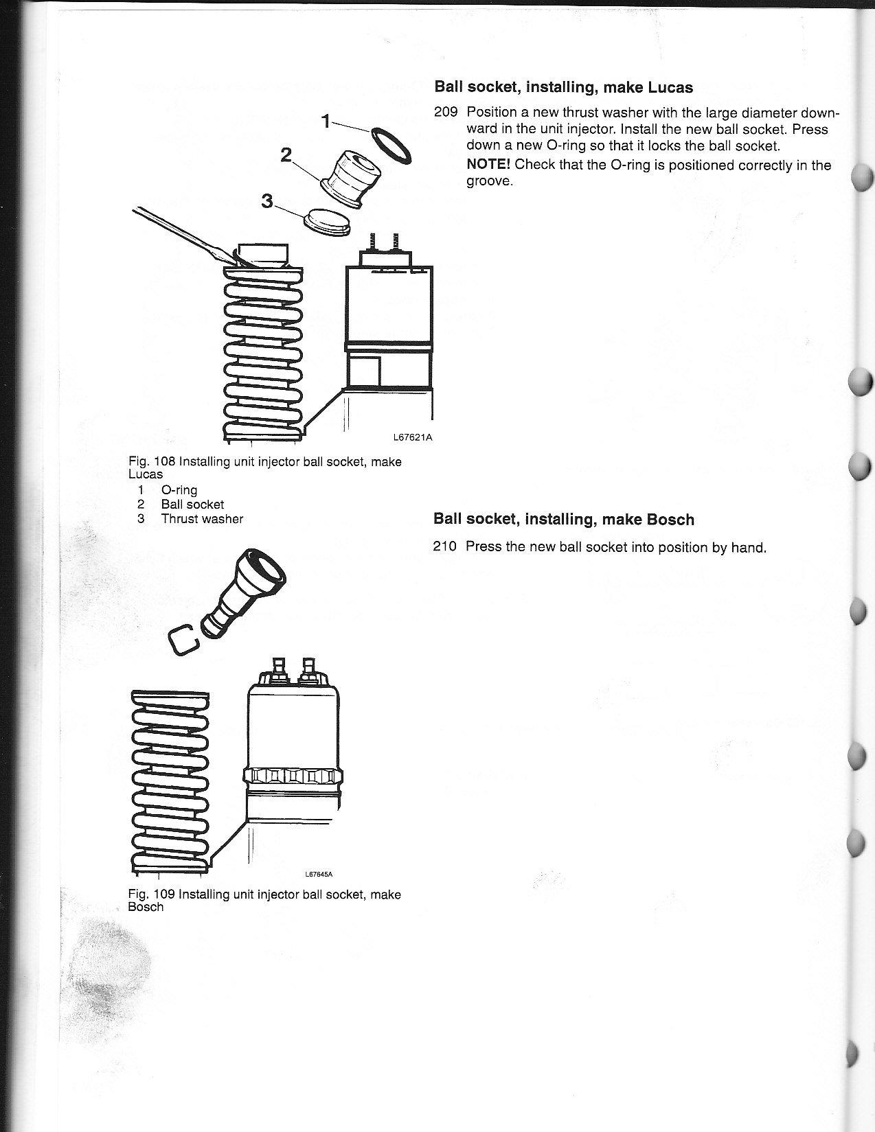 HAVE 2002 D12 ENGINE NEED INJECTOR TORQUE SPECS AND ADJUSTMENT SPEC