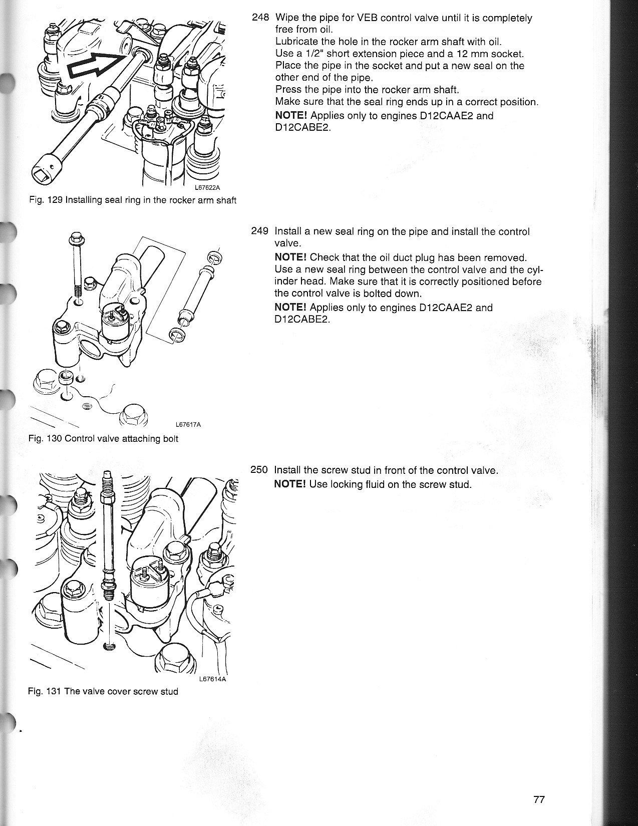 dt466 rocker arm torque specs