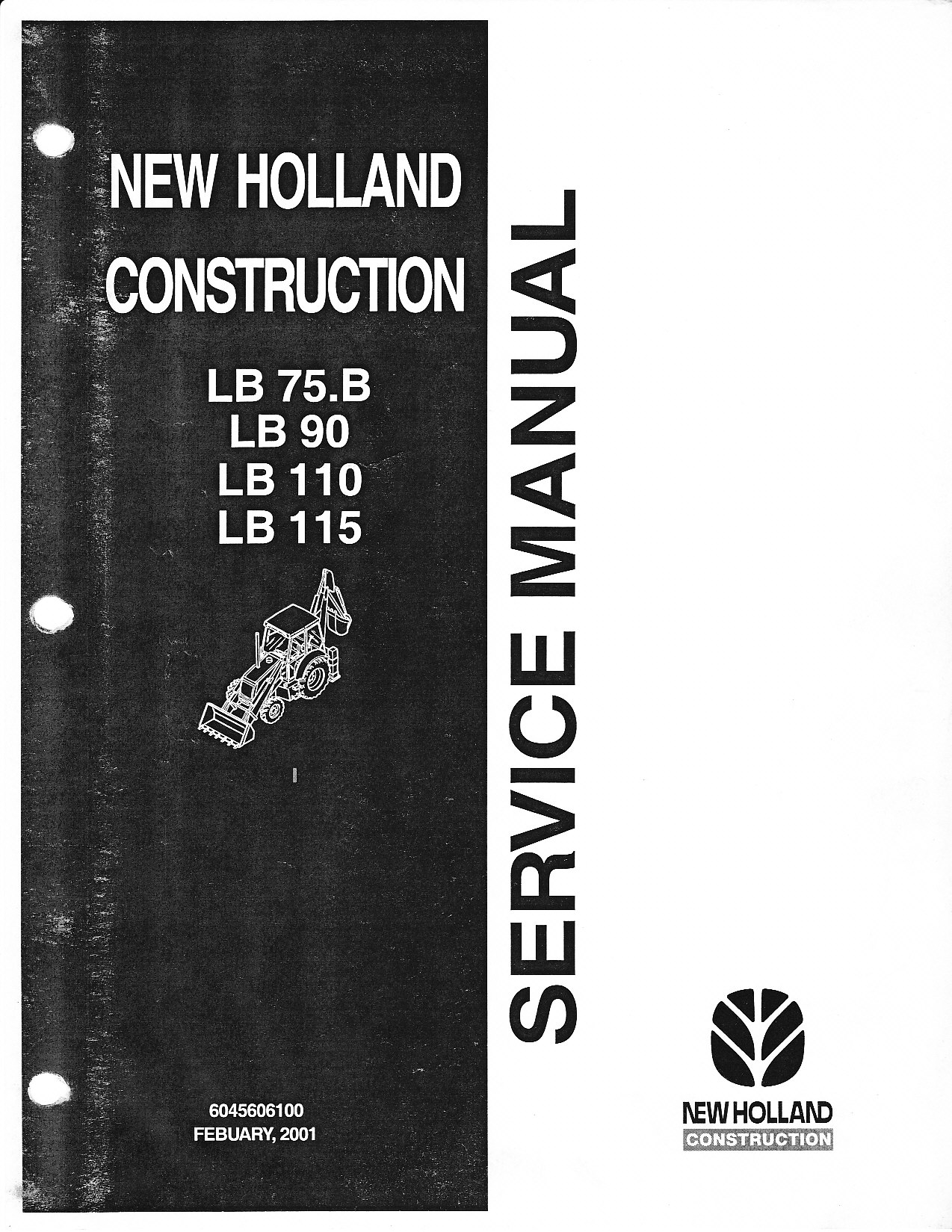 New Holland Lb75 Backhoe Service Manual Good Owner Guide Website Fuse Box Diagram Heavy Equip Question Rh Justanswer Com Rear Bucket