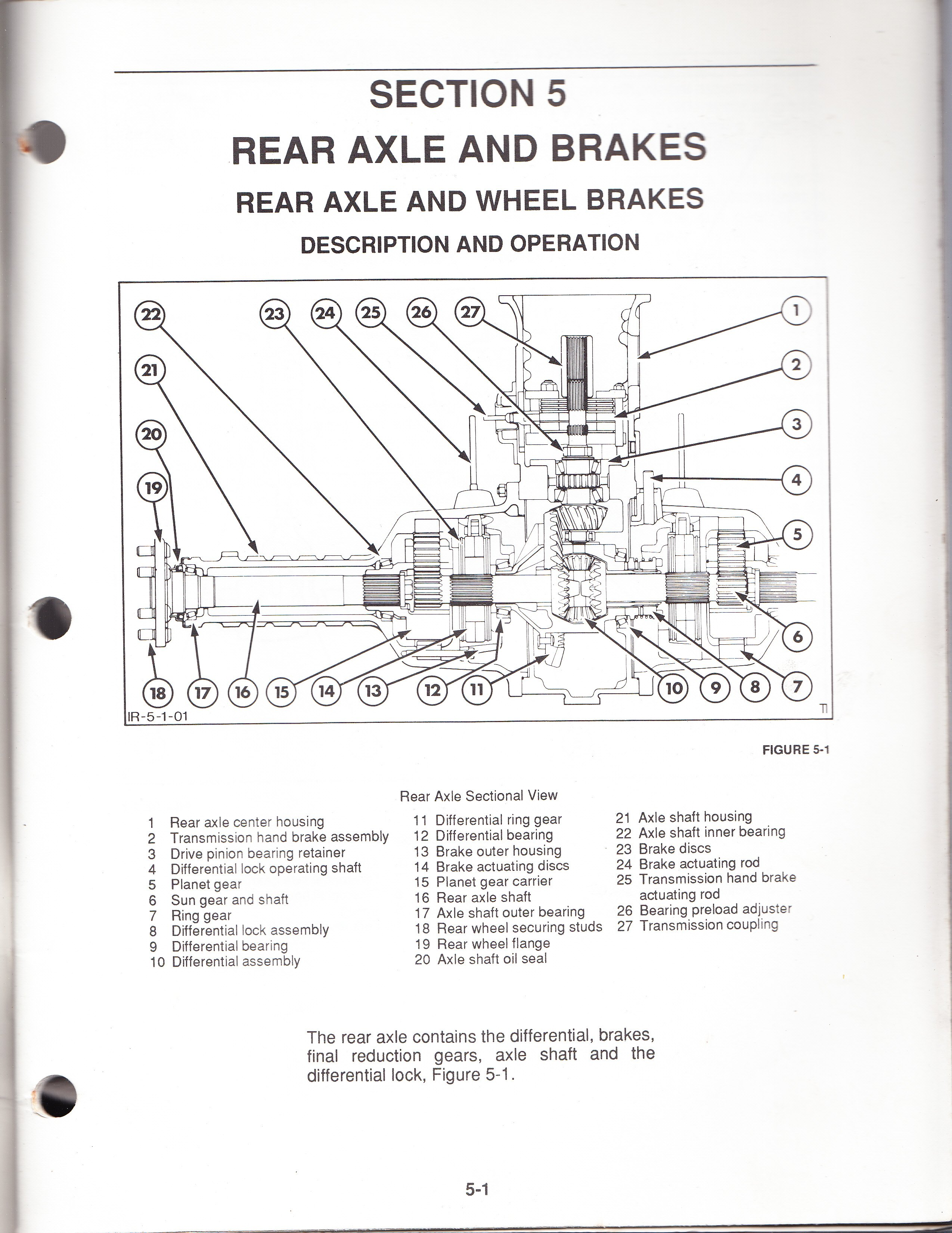 I Have A 555d Ford Backhoe And The Brakes Just Disappeared Left. Ford. Ford 555 Backhoe Front Axle Diagram At Scoala.co