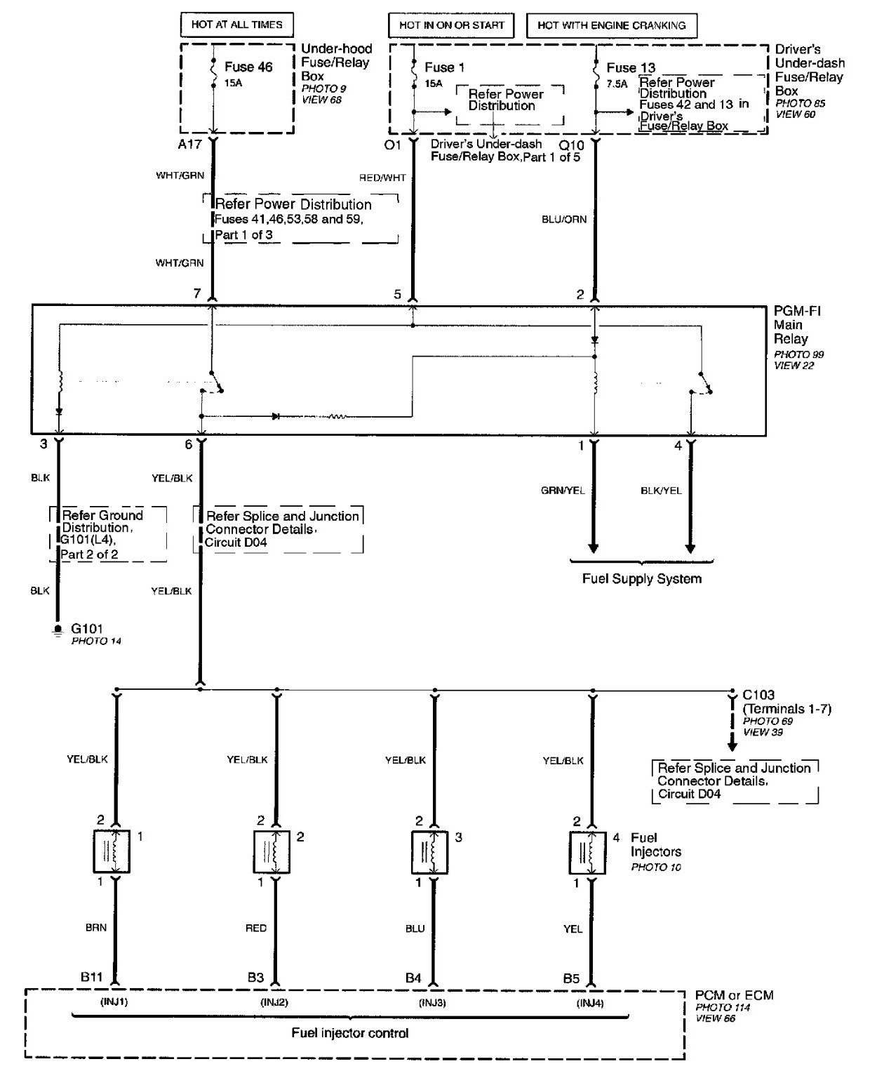 99 Honda Accord Wiring Diagram Another Blog About 2009 Free Engine Image 1999 Ac