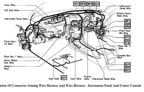 where is the tachometer wire location on a 92 camry
