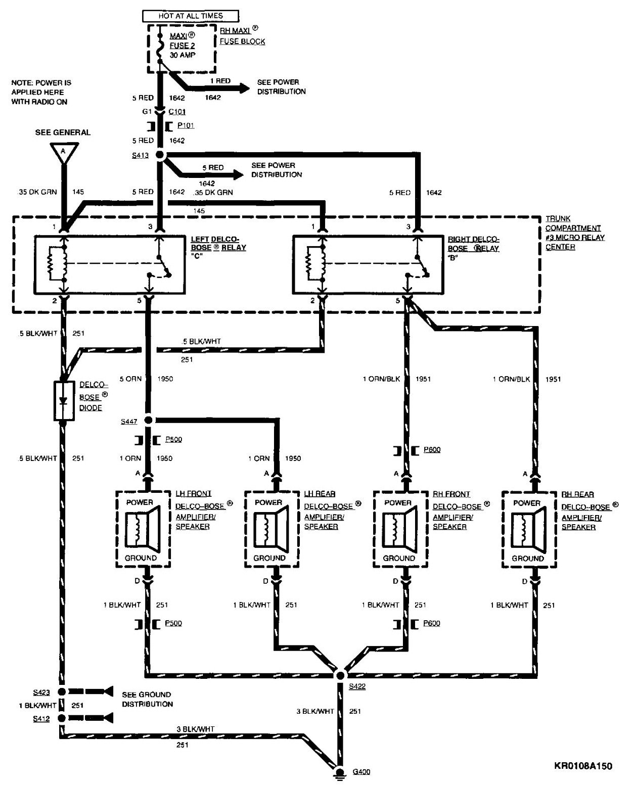 2009 10 24_182657_delco_0001 1994 cadillac stereo wiring wiring diagrams 1995 cadillac deville radio wiring diagram at couponss.co