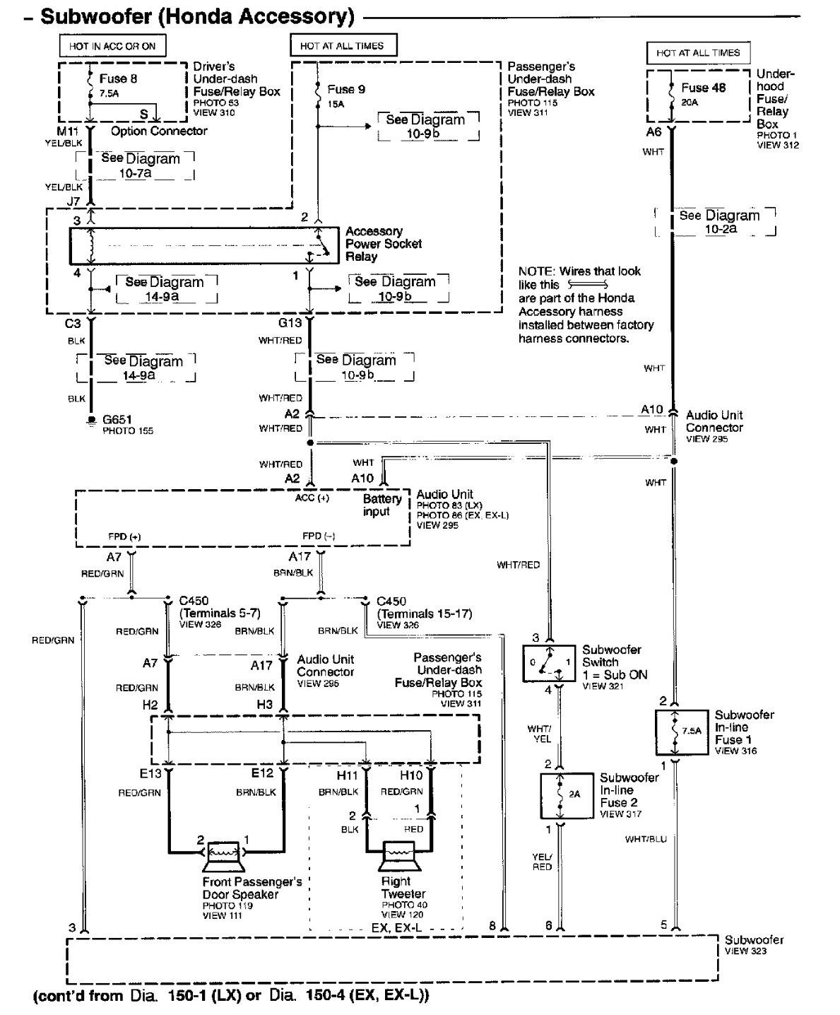 There I Just Bought A 2003 Honda Pilot Ex L And Ordered An Wiring Graphic