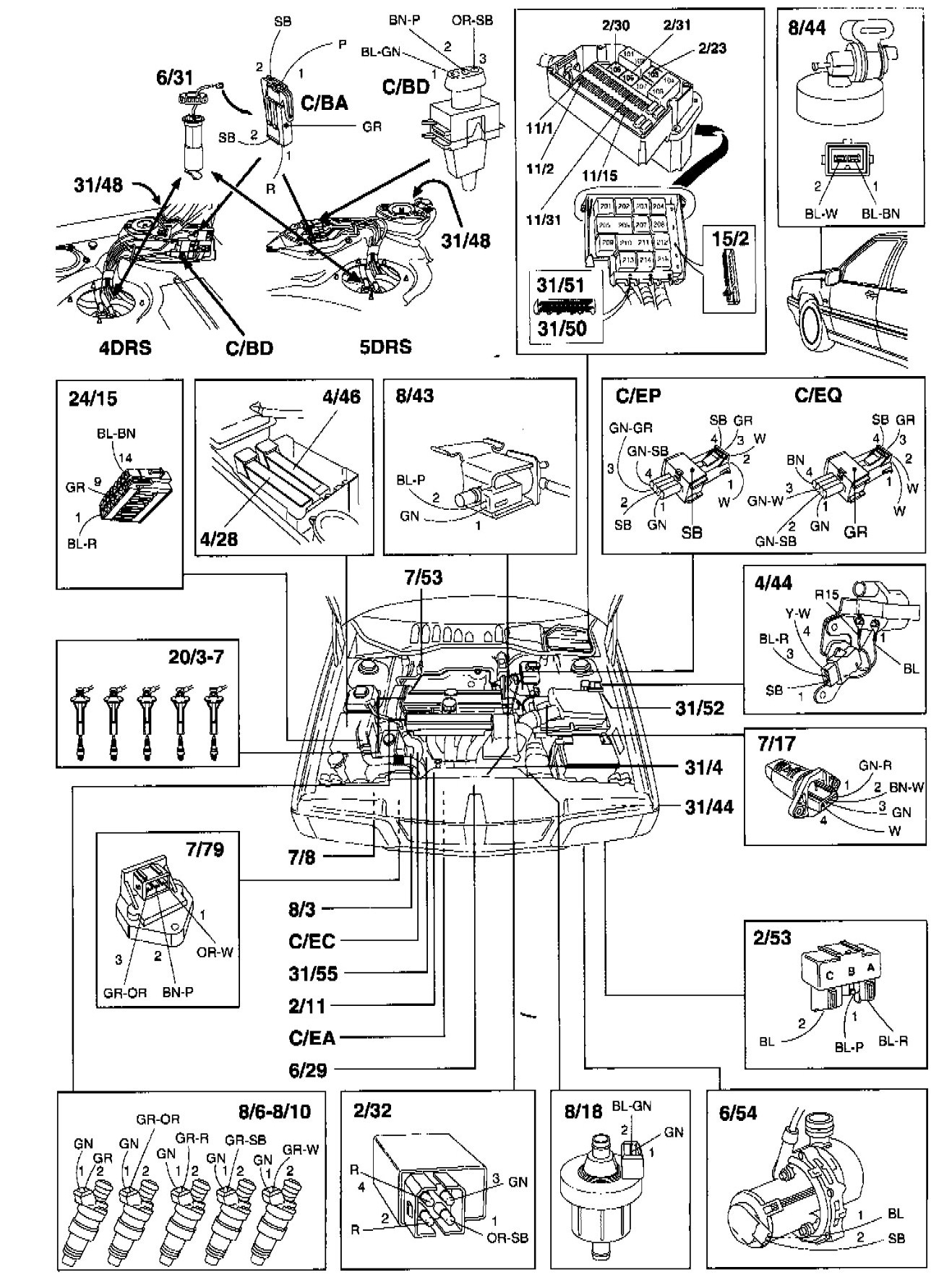 Serpentine Belt Diagram 2000 Ford Focus Wagon Schematics Data 2007 F 150 Parts Also 2002 2001 Volvo S40 Cooling System Free Engine Image For User Manual Download