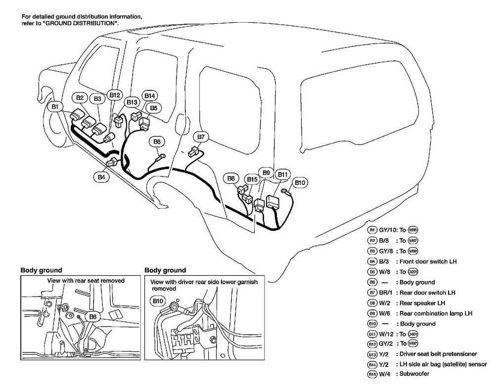 Wiring Diagram For 2003 Xterra List Of Schematic Circuit Nissan Wire Harness I Have A The Left And Right Brake Light Don T Rh Justanswer Com
