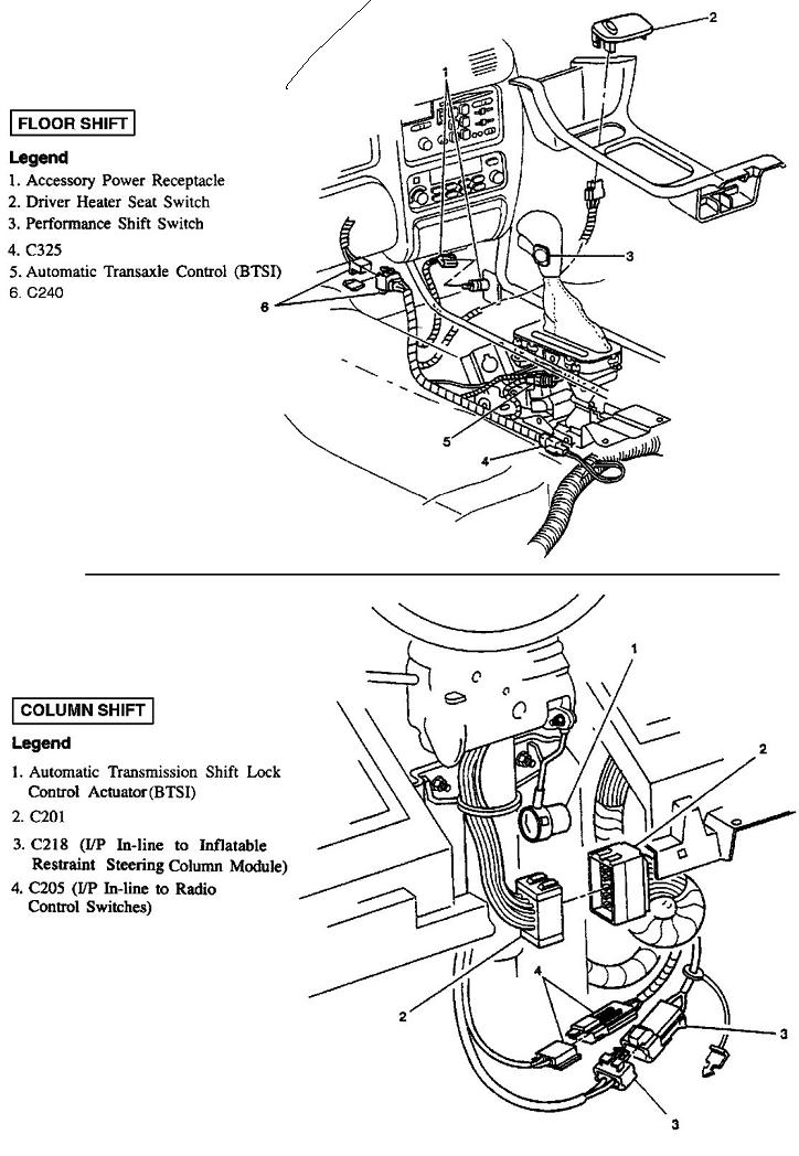 Service manual [How To Change Shift Interlock Solenoid ...
