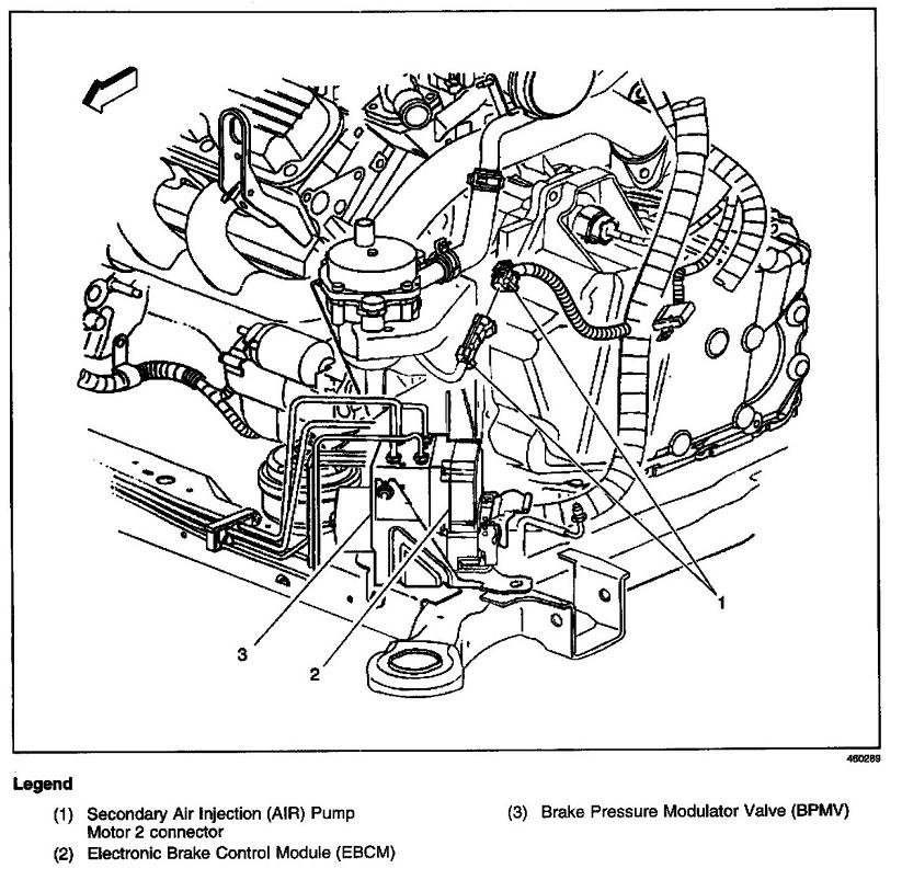 where is the tcc   traction control module   located one a