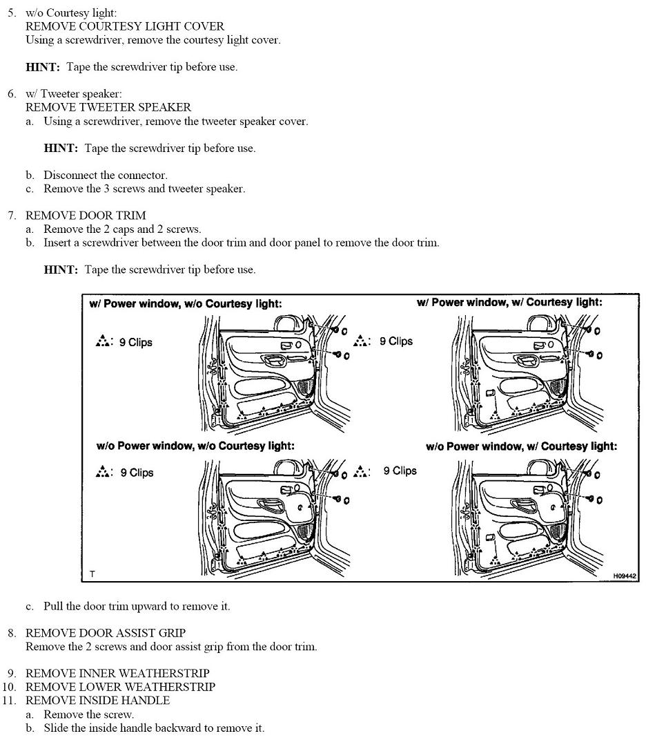 2001 Tundra Part Diagram Schematic Diagrams Wiring For Toyota Door Electrical Work U2022 F250 Parts