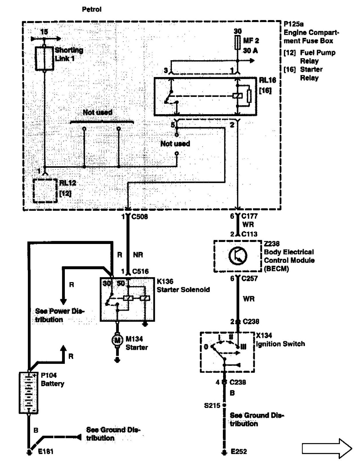 emission wiring diagram 2000 land rover