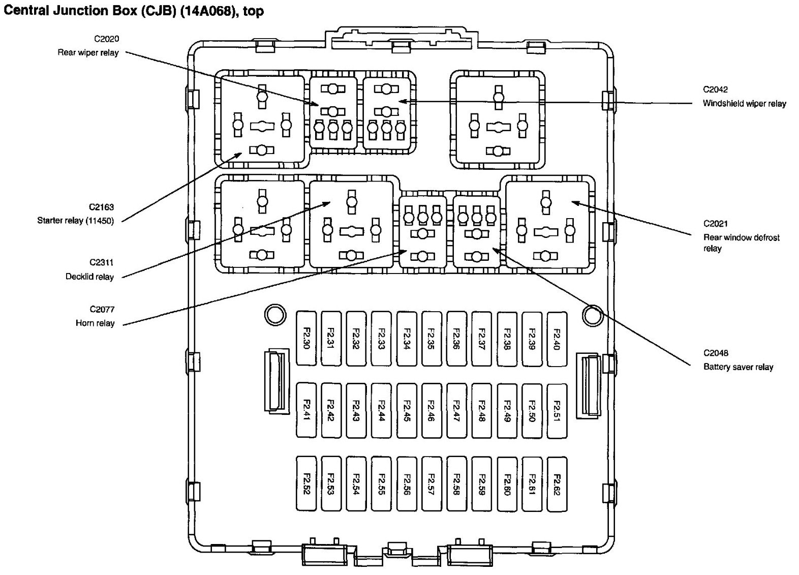 need to know where the fuse is located for a 2005 ford focus se zx3 rh justanswer com 2005 ford focus zx4 fuse box diagram 2005 ford focus zx3 fuse diagram