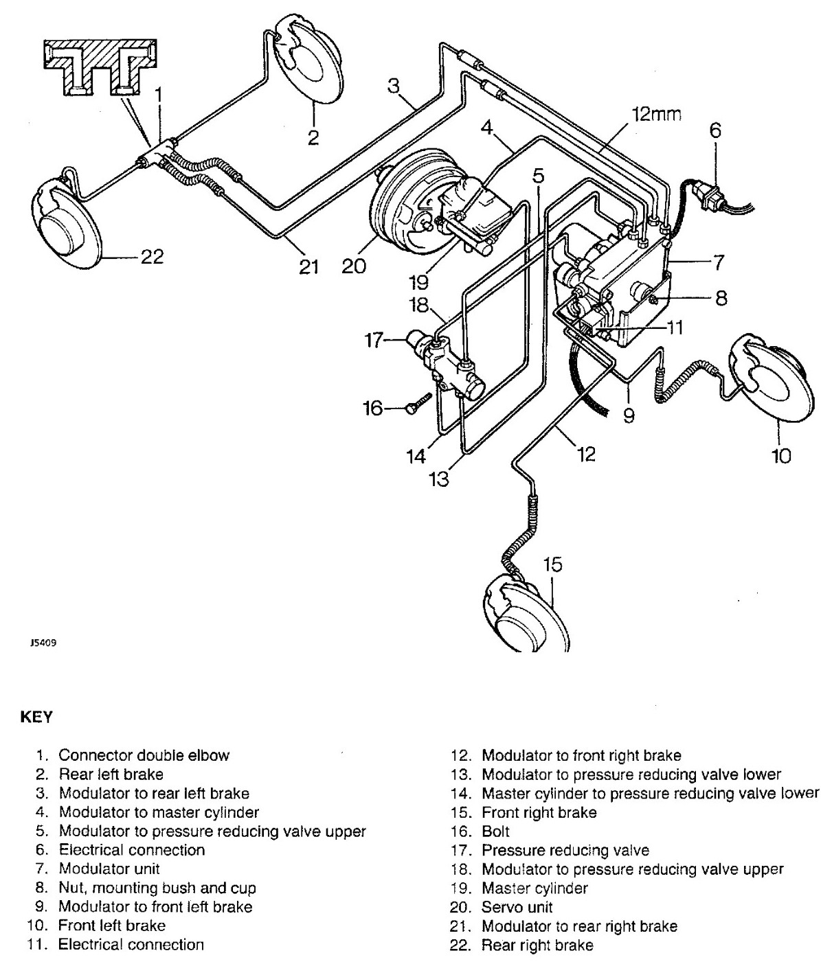 What Is The Bleed Order On A 99 Landrover Discovery Non Abs Thank You Rover Brakes Diagram Graphic