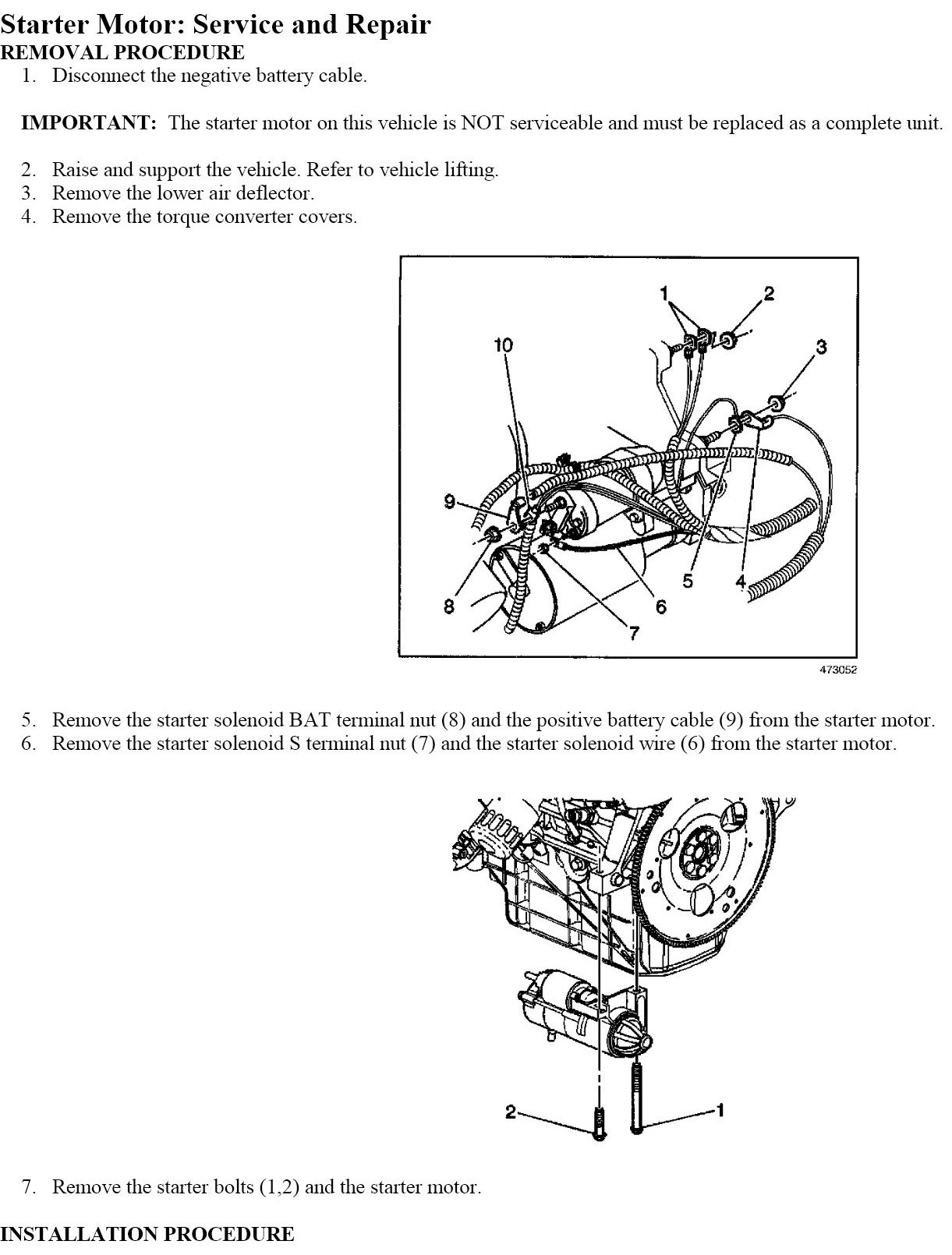 how to replace 2004 chevy impala starter? 2006 chevy impala starter location 2003 impala wiring diagram
