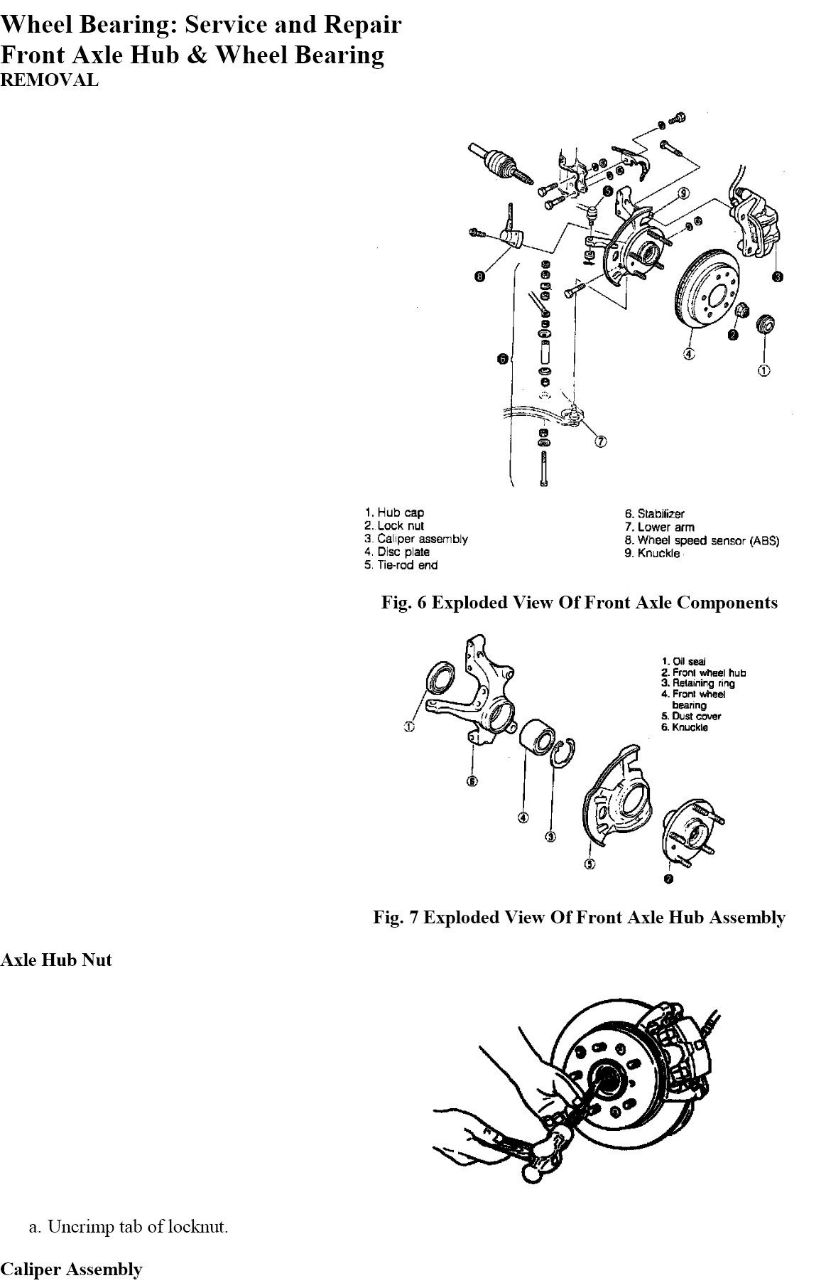 Need Service Manual For Gd Mazda 626  1991