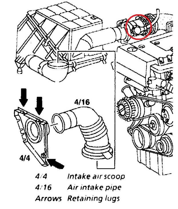 Where Is It Located And How To Change Mass Air Sensor 1999 Mercedes C230