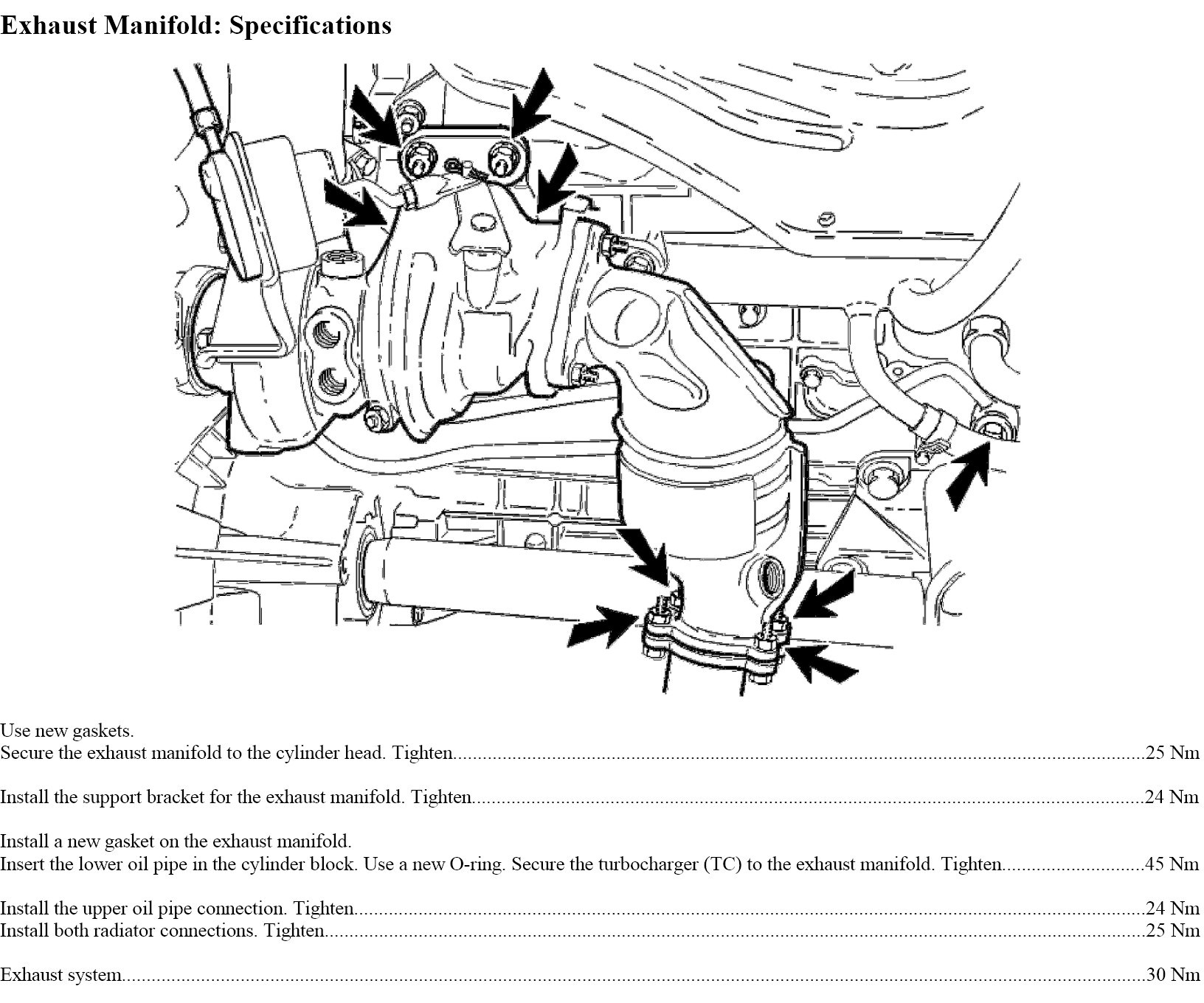 What Are The Exhaust Manifold Torque Specs And Torque