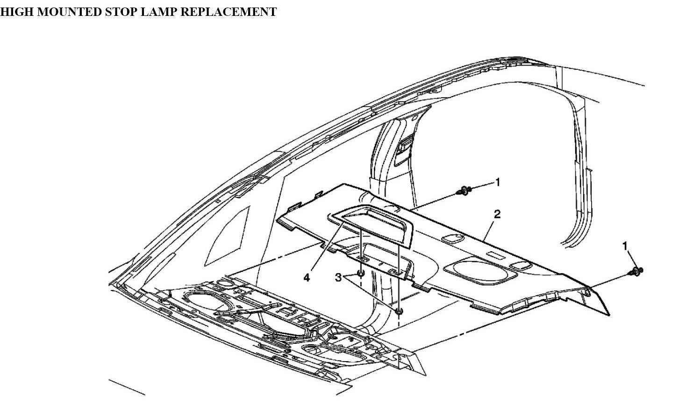2005 buick lacrosse third brake light html