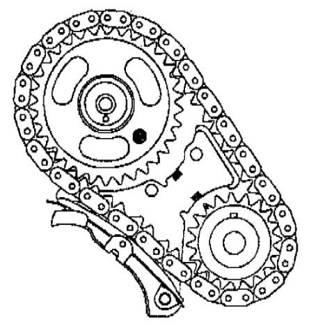 Looking For A Diagrahm For Timing Marks For The Crankshaft Balance