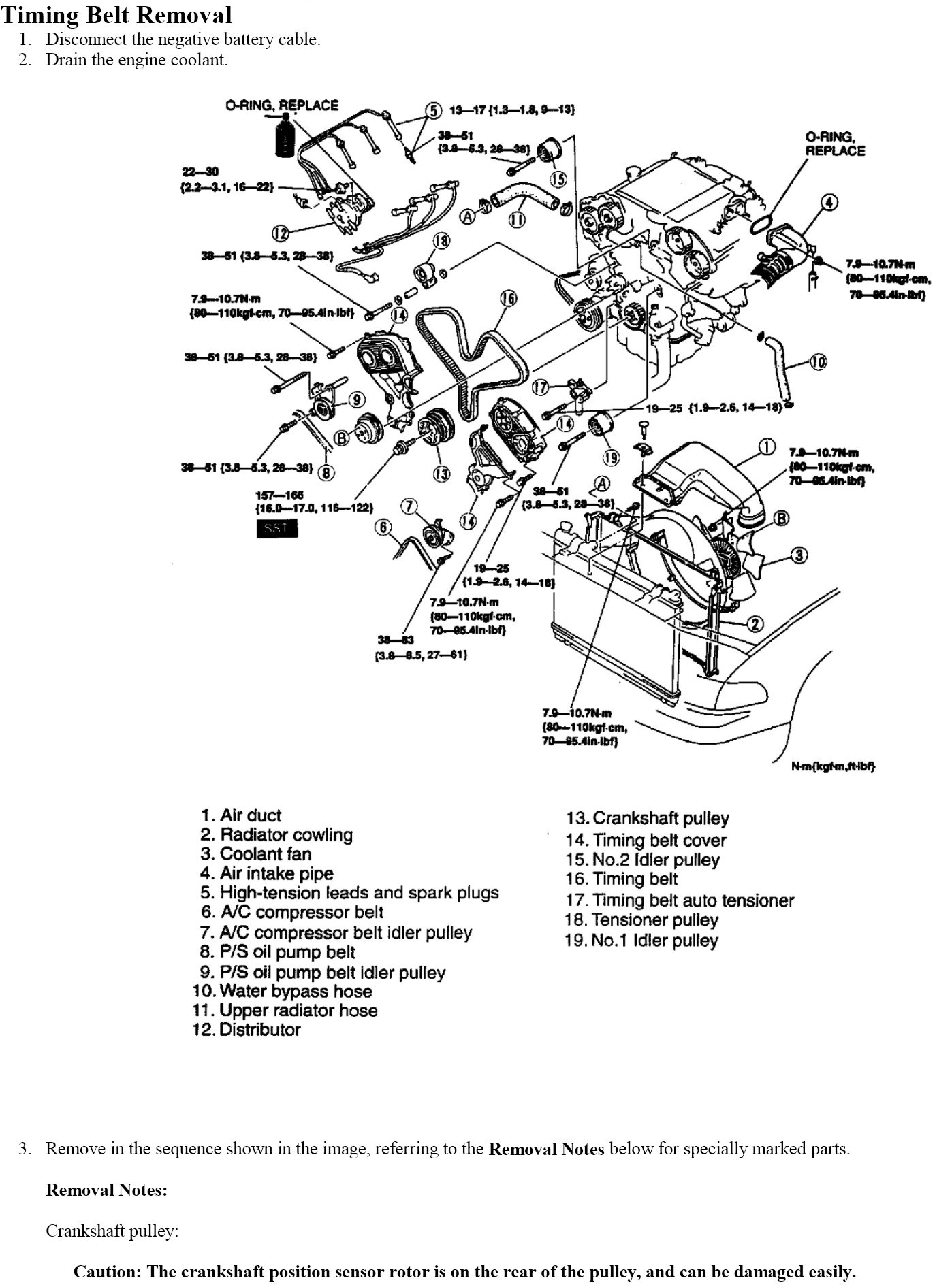 Technical Car Experts Answers Everything You Need Belt Manual Guide