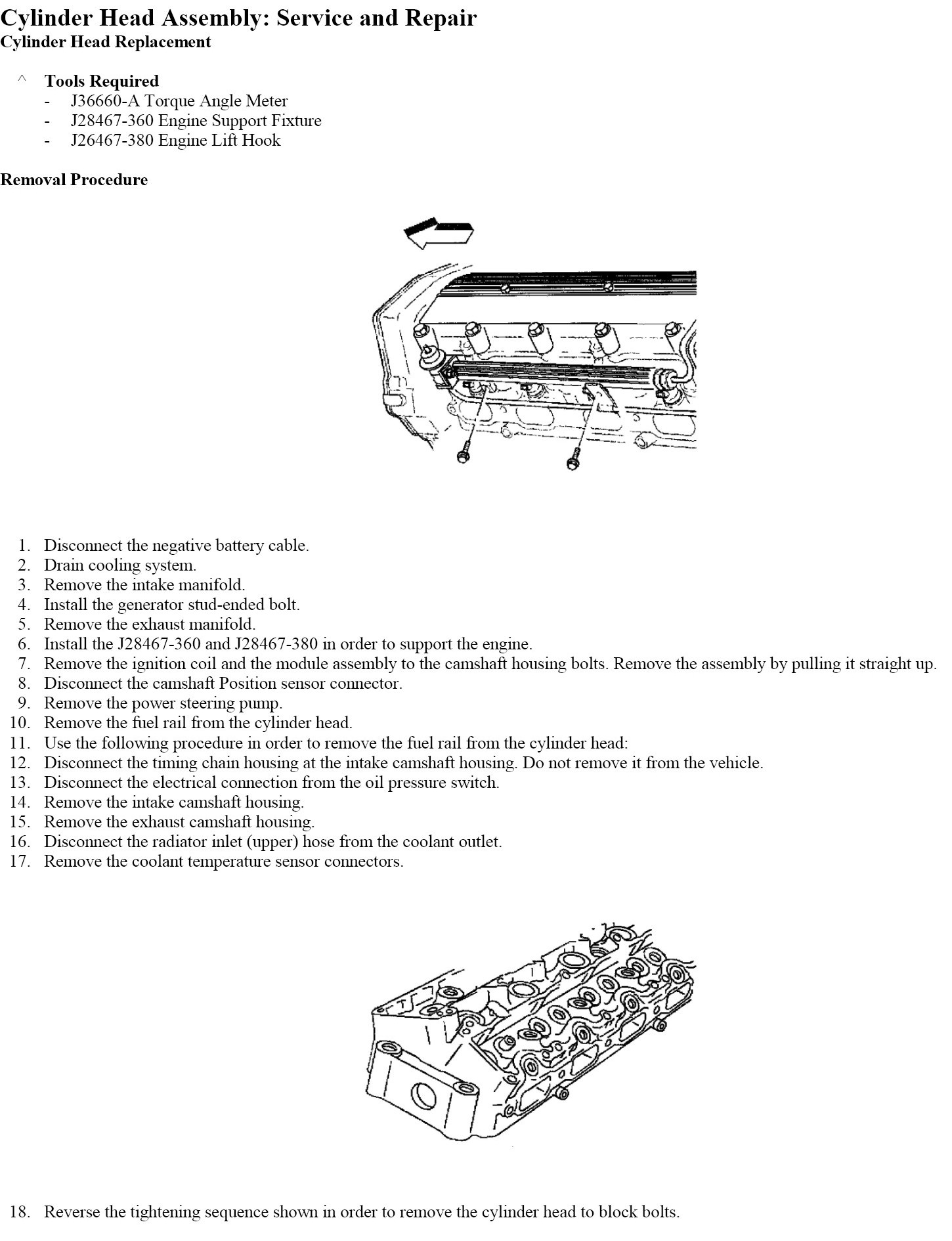 How To Change Head Gasket In 2001 Chevy Cavalier Z24 With