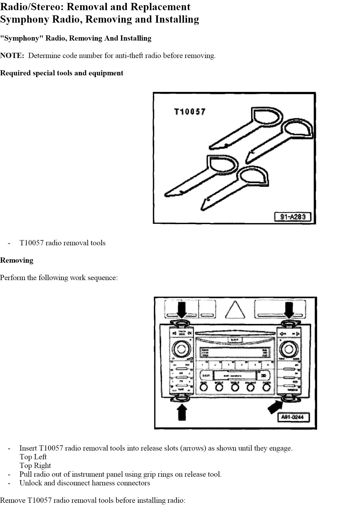 I Have 2003 Audi A6 And Wanted To Replace The In Dash Cd Player Here Is A Wire Diagram Let Me Know If You Questions Thanks Graphic