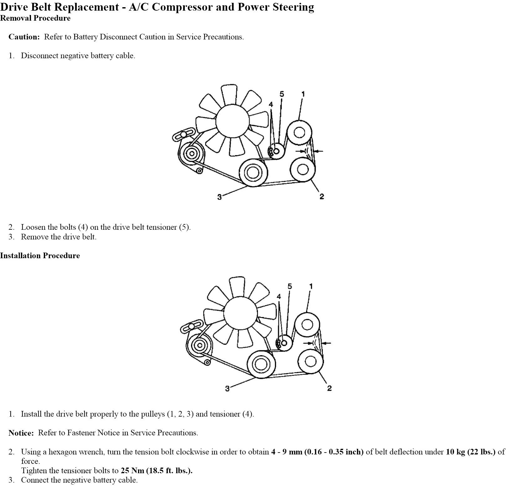 2003 Chevy Tracker Idler Pulley Belt Diagram Diagrams