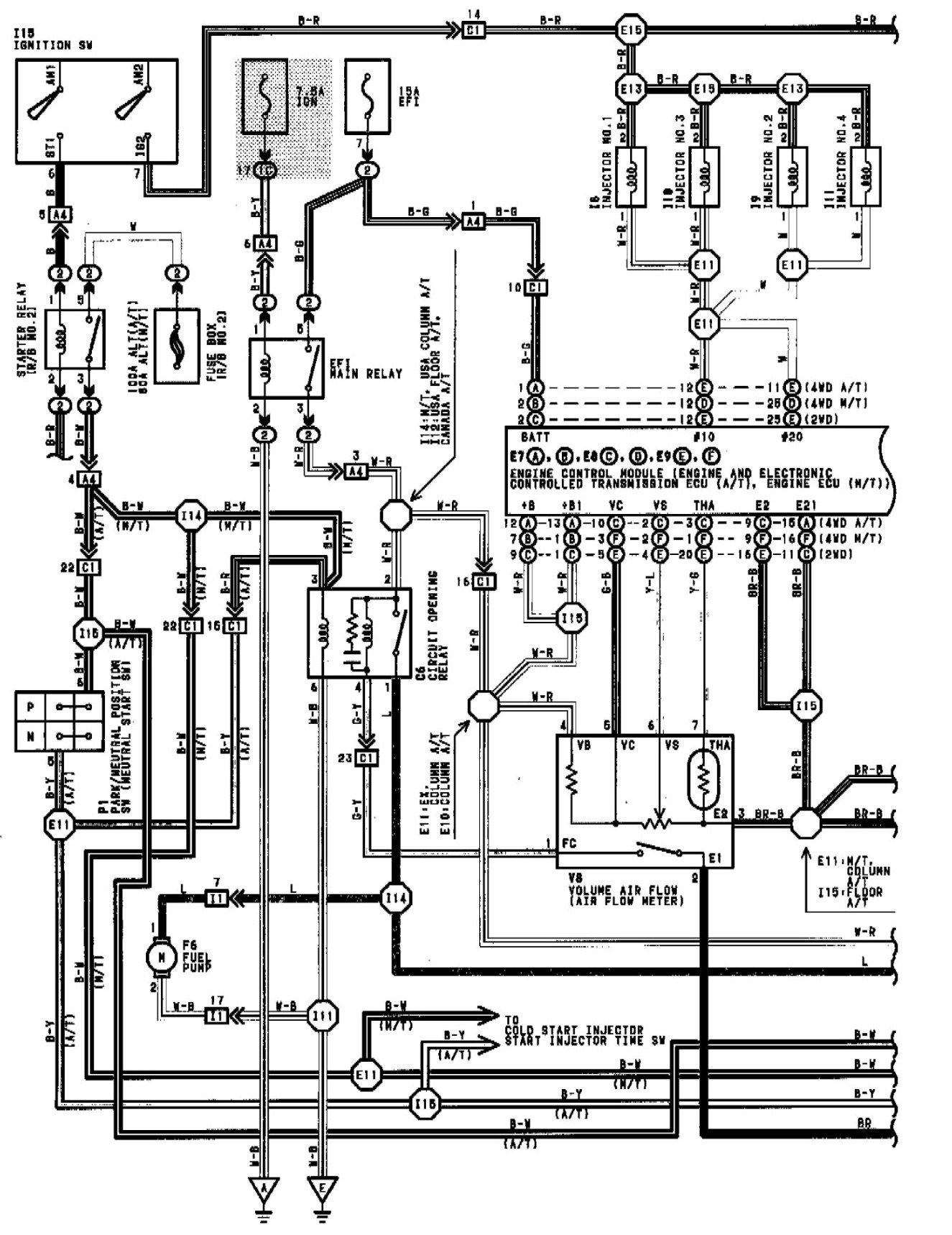 wiring diagram efi poc fslacademy uk 2008 F350 Fuse Panel Diagram efi relay keeps blowing 15 fuse after relay what wiring diagram fiat doblo wiring diagram