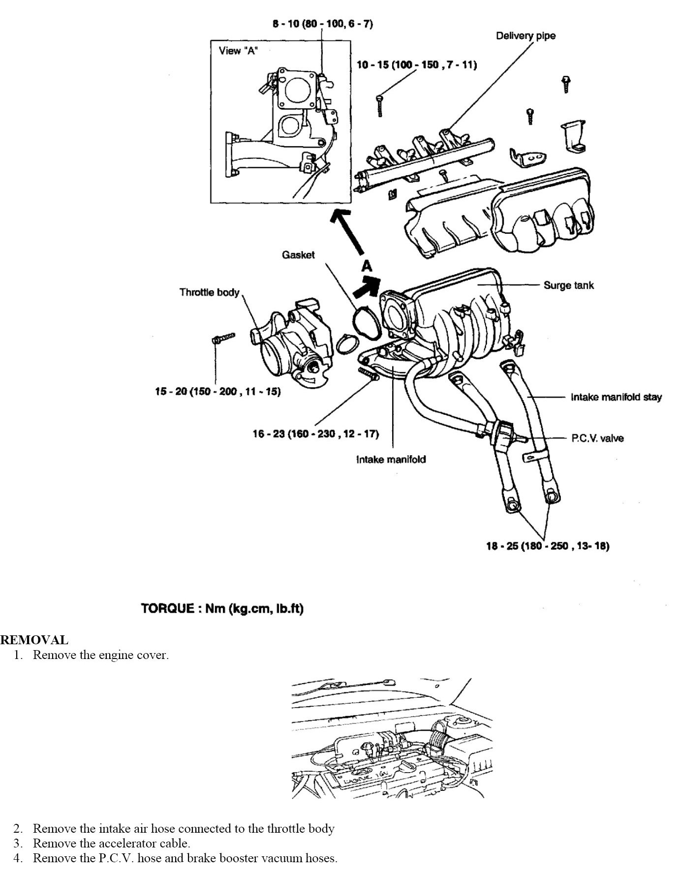 what are the steps to replacing the intake manifold gasket