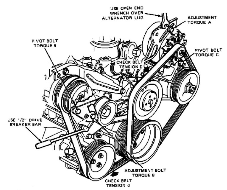 mercury villager motor diagram