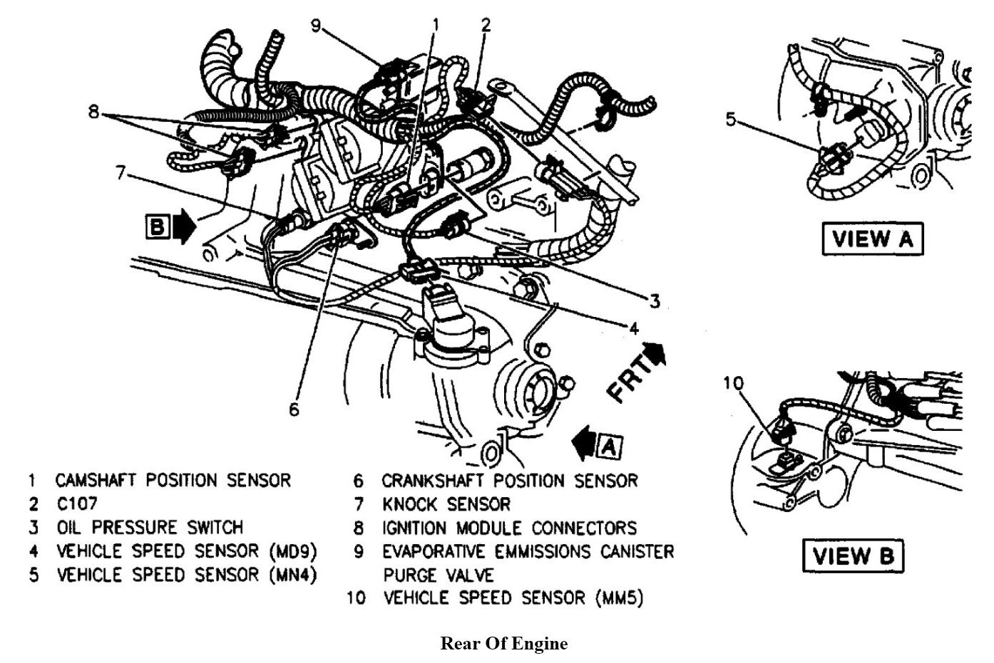 2000 cavalier z24 2 4 engine diagram all wiring diagram 2000 Cavalier Front Suspension Diagram