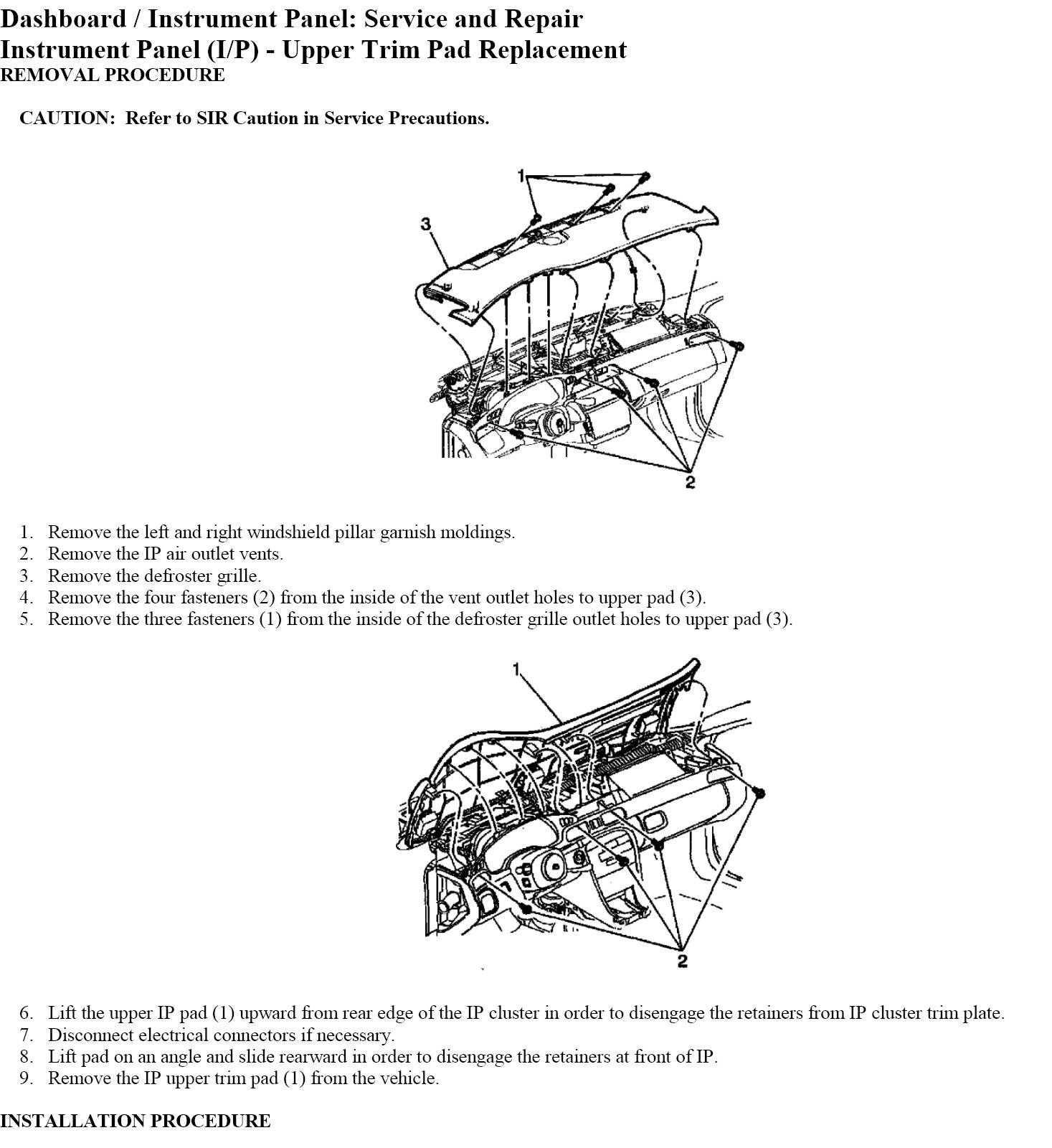 2002 Cadillac Deville. How Do I Remove The Immitation