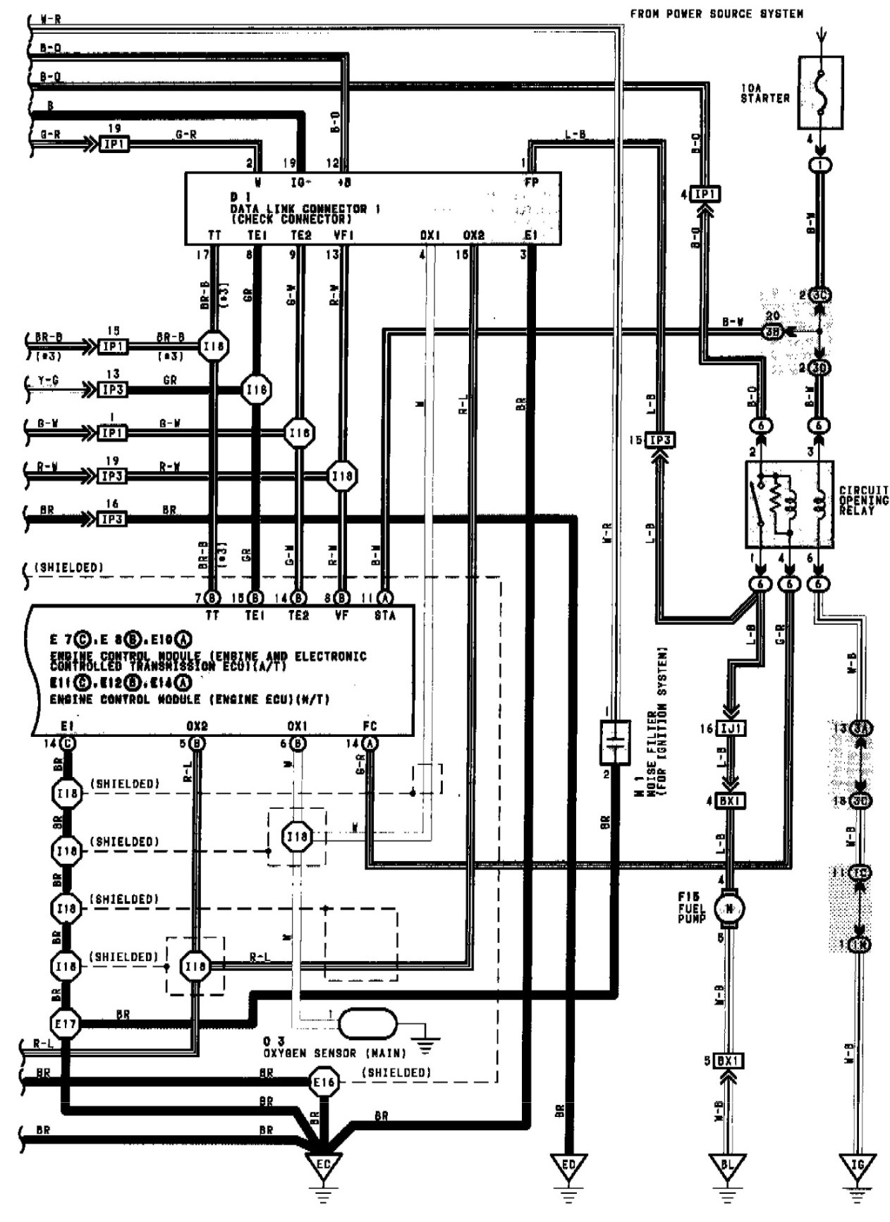 toyota fuel injector wiring diagram circuit connection diagram u2022 rh mytechsupport us