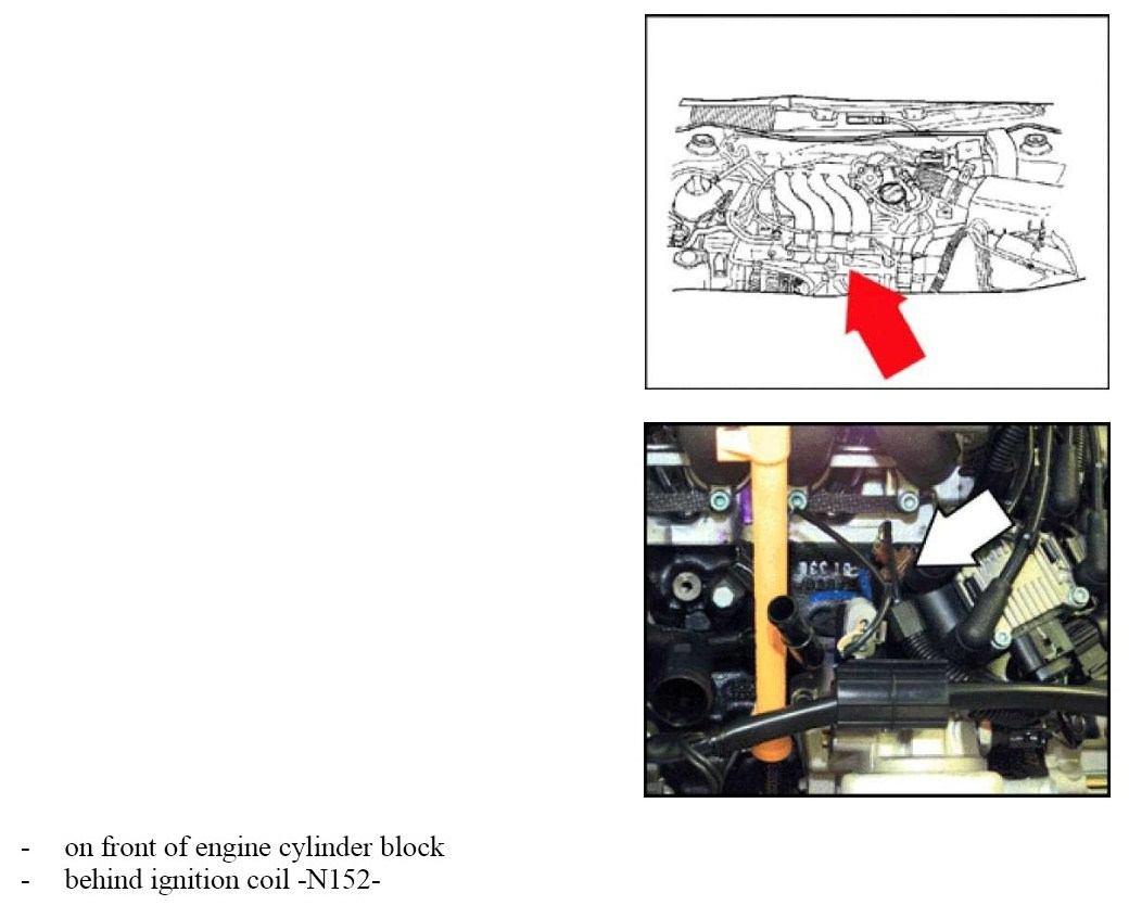 2000 Vr6 Engine Diagram Knock Sensor List Of Schematic Circuit Wiring Images Gallery I Have An Error Code P2203 On My 2004 Vw Golf 2 0 Fsi