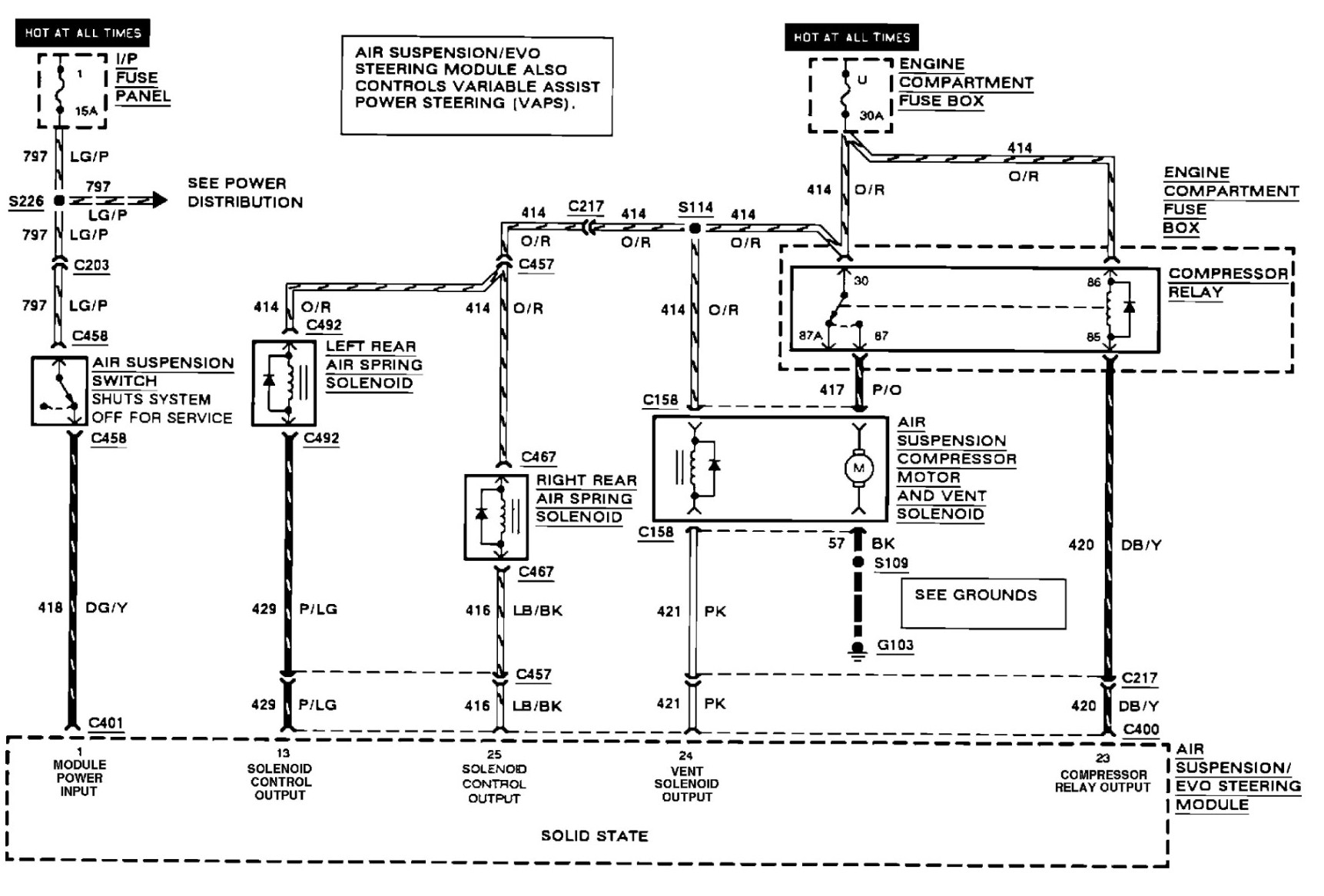 Air Ride Compressor Relay Wiring Diagram