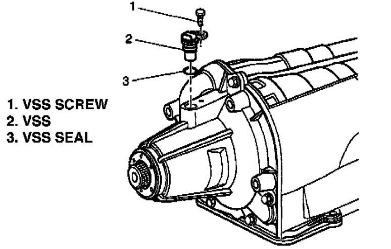 4t60e Diagram