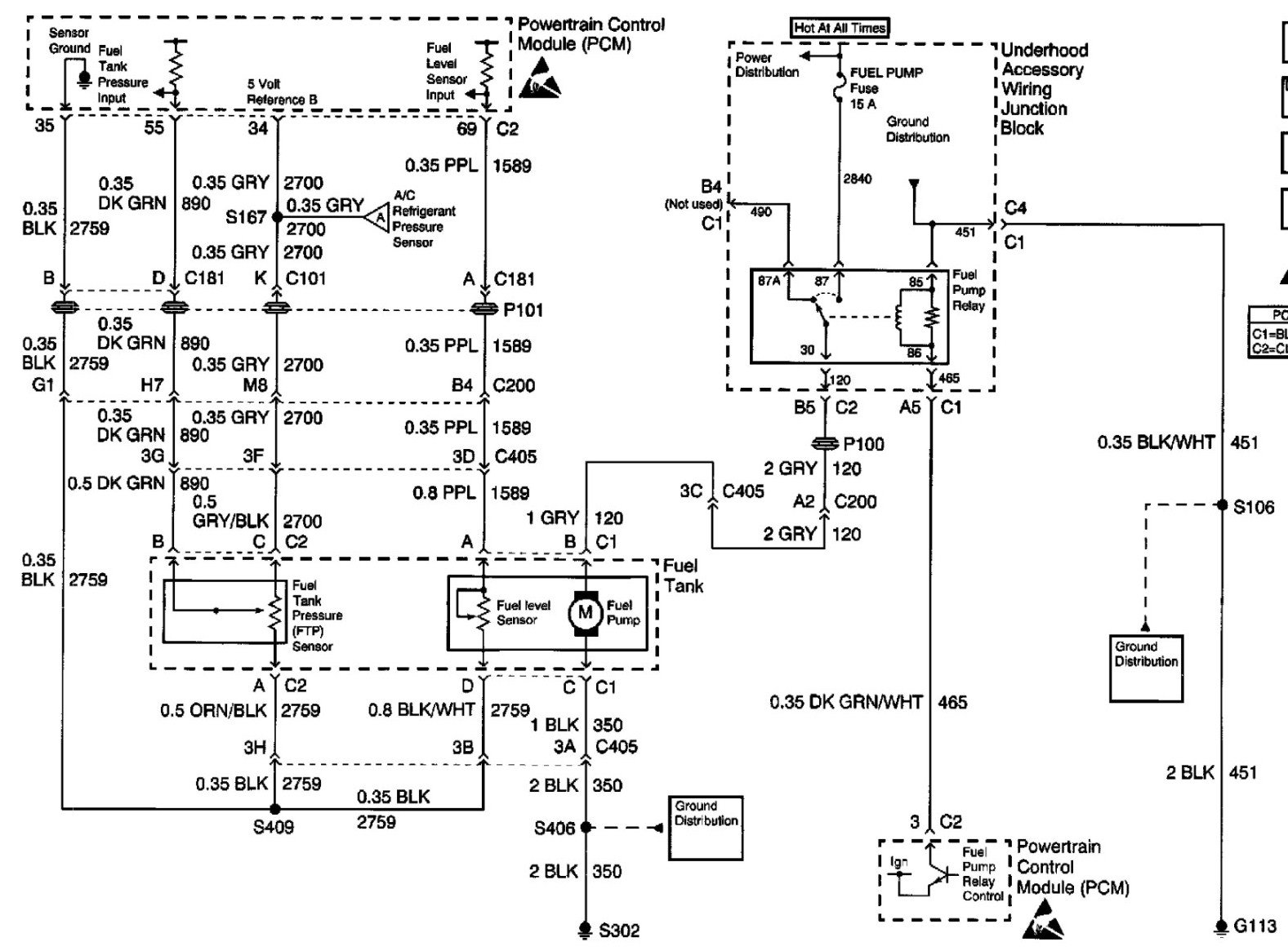 Im Haveing A Problem With Fuel Gauge And Low Fuel Light Being Empty And Light Always On I Put A Wiring Diagram