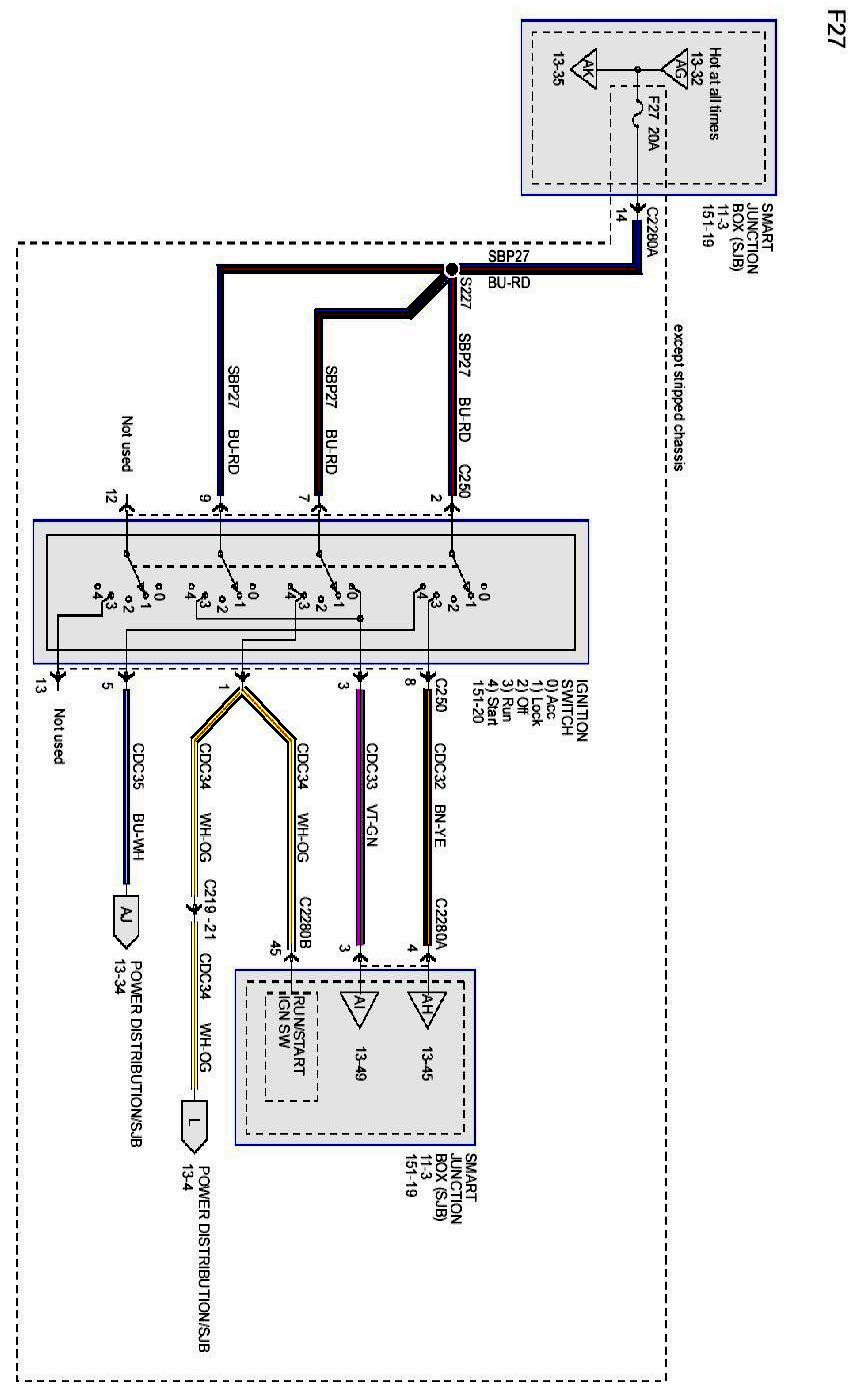 Where Can I Get A Wiring Diagram For A 2010 E 450 Chassis With A V 10 Engine And 31 5 Four Winds Motor Home Attached I