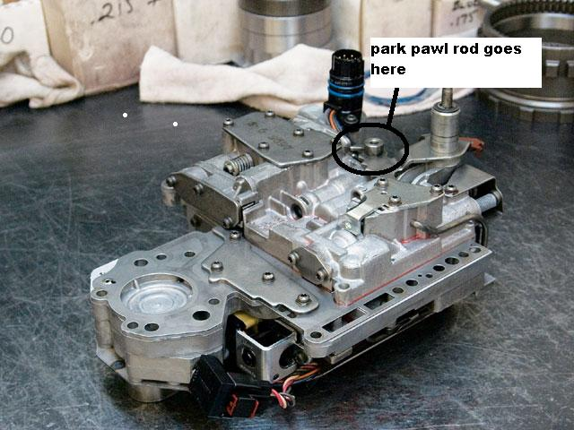 Transmission Valve Body >> Have a 94 jeep grand cherokee just put in a rebuilt transmission and the transmission doesnt ...