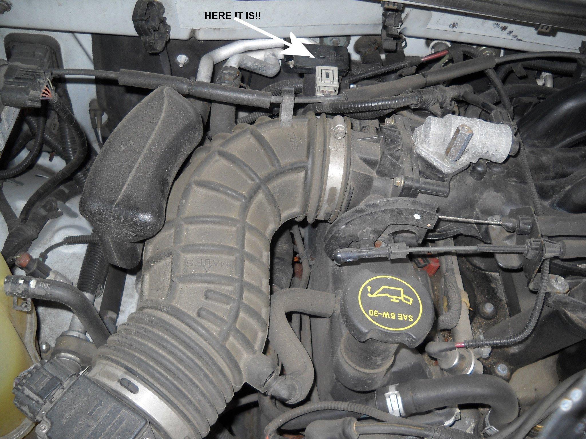 2002 Ford Explorer XLT: V6 4.0L - engine check light..flow