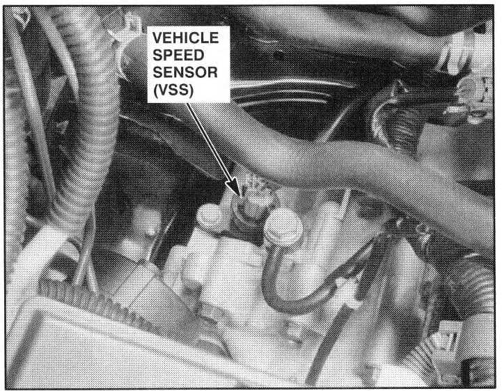 Where Is The Vehicle Speed Sensor Located