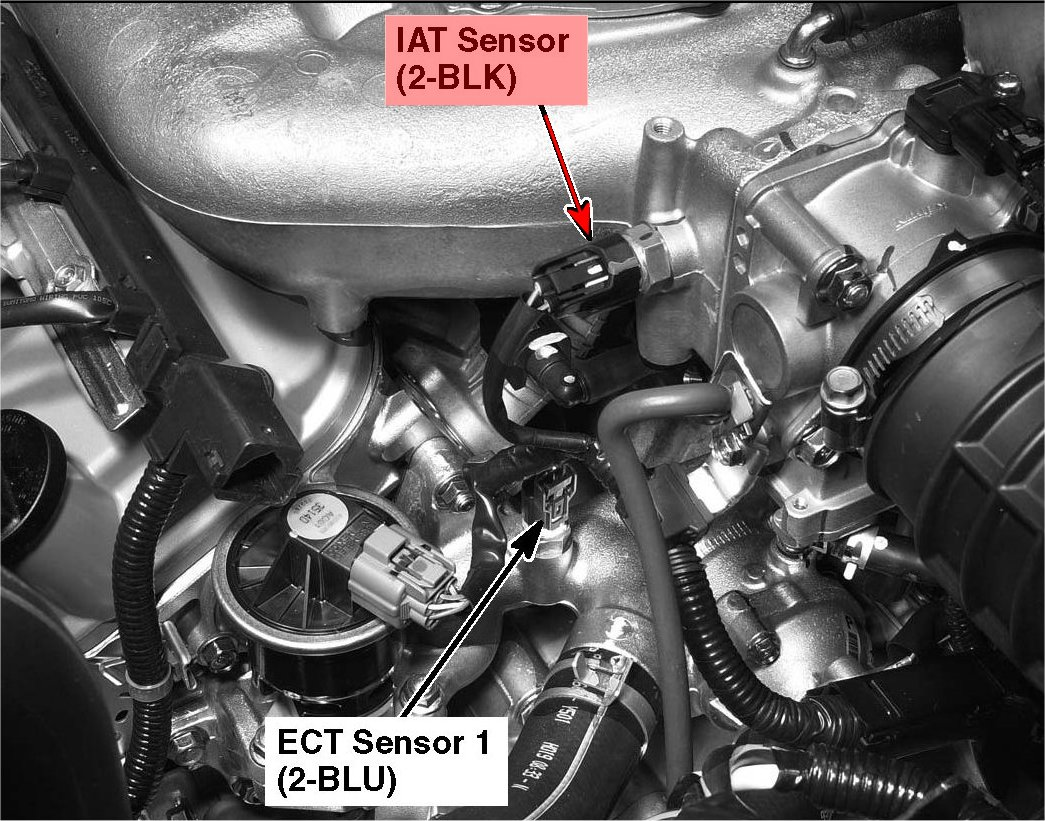 131423022699 together with 411225 Diagnosing Replacing Knock Sensors 3vz Fe V6 likewise Iat Sensor Intake Air Temperature likewise 4gw5i Kia Rio Lx Want Install Performance Chip 2009 further Cleaning Sensors 99804. on where is my iat air intake sensor
