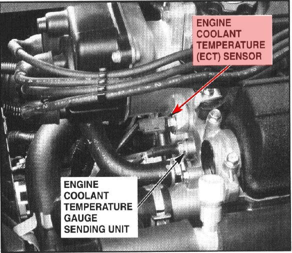 on Honda Cr V Coolant Temperature Sensor Location