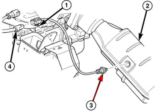 O2 Sensor Diagram On Dodge Caravan O2 Sensor Diagram