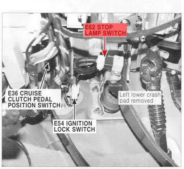 How Do You Release The Shift Lock Our Shifter Is Locked Until We Push Down On The Release