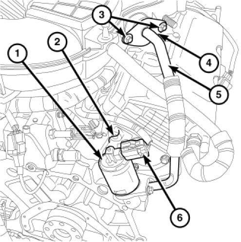 6ttyd Does Error Code P0406 Mean 208 Chrysler Sebring