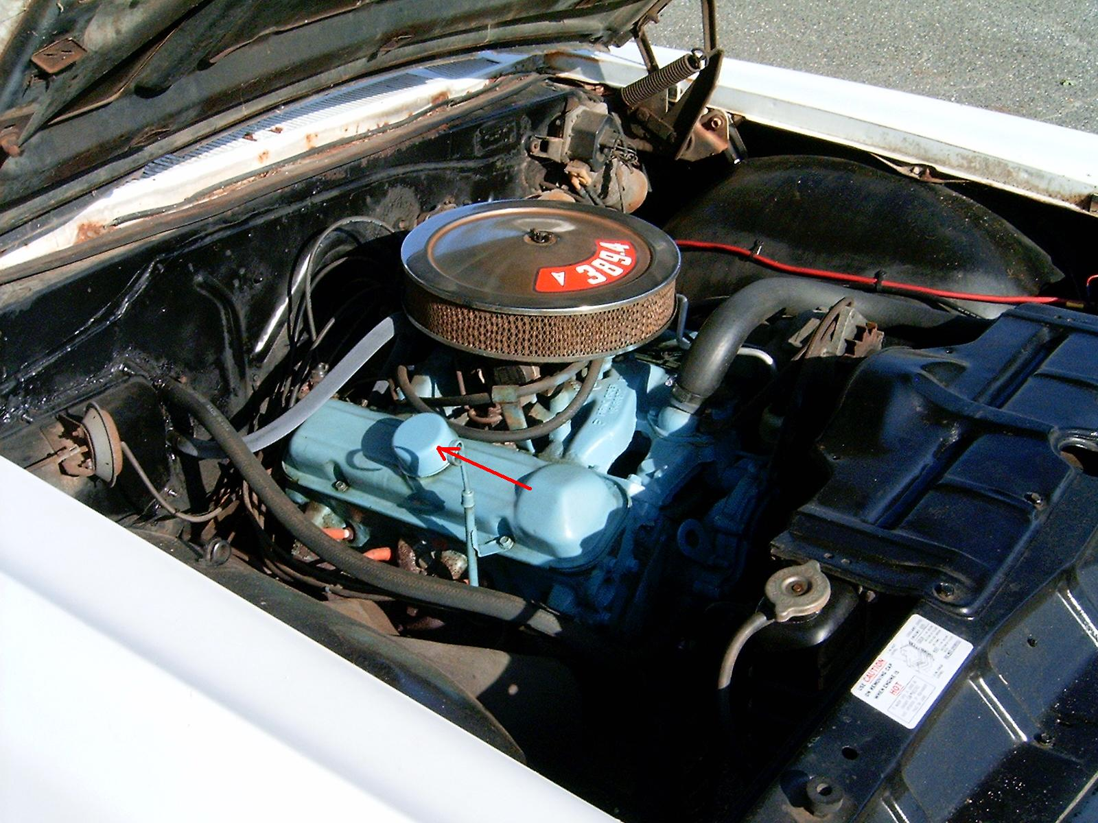 I Just Got A 1962 Catalina Need To Change The Oil There Are Like 2 Pontiac Engine Graphic