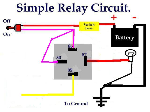 Famous How To Hook Up A Relay Picture Collection - Schematic Diagram ...