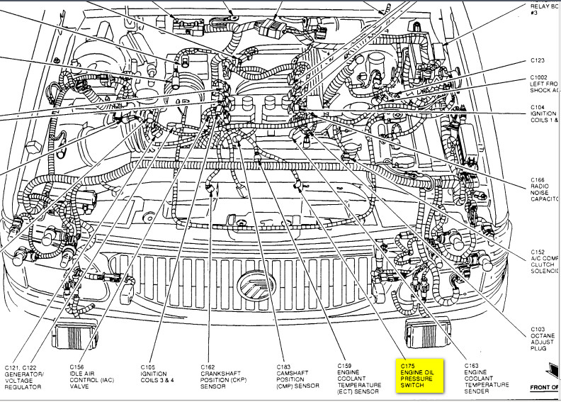 1997 mercury sable engine diagram 2006 mercury montego